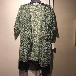 LuLaRoe Monroe sheath Size S NWT. Ivy pattern